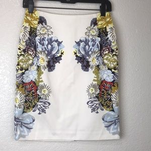 H&M Floral Skirt Size 6